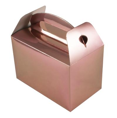 Oaktree Party Box 100mm x 154mm x 92mm 6pcs Metallic Rose Gold No.87 - Accessories